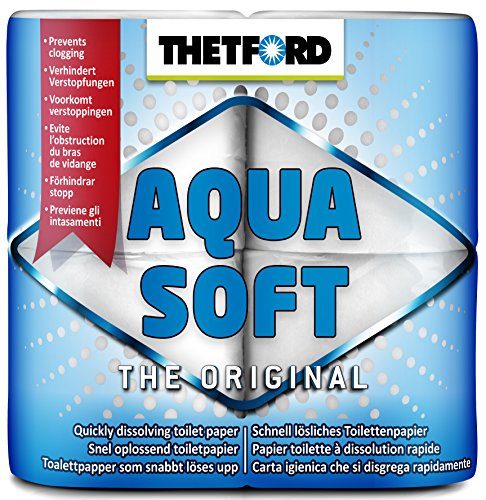 Thetford Aqua Soft Toilet Rolls – Pack of 4