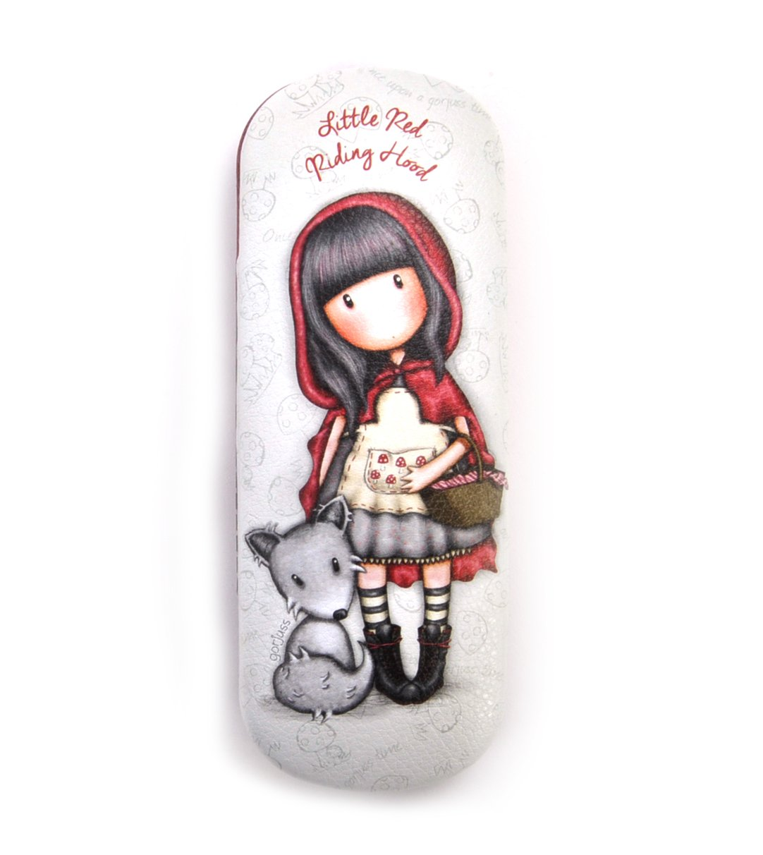 Funda de Gafas Gorjuss Compacta – Little Red Riding Hood