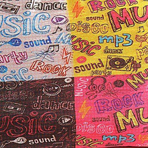 Yuga Printed Münze Beutel-Verfassungs-Waschraum Organizer-Geldbeutel-Frauen-Mappen 1 Pc 6 x 10 Zoll Mehrfarben-9