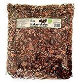 Bio Kakaoschalen Mulch ✓ Für Haus und Garten ✓ Ohne Pestizide auch für Innenräume geeignet ✓ Dekoration und Bio Alternative zu Rindenmulch ✓ Lose fallend, keine Pressware (1,6 kg)