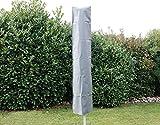 Schirmhülle Ampelschirm Anthrazit Mit Stab - 300 cm