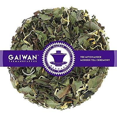 "N° 1205: Thé blanc ""Pai Mu Tan Maracuja"" - feuilles de thé - GAIWAN® GERMANY - thé blanc de Chine, souci"