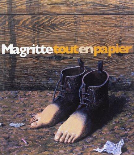 Magritte tout en papier : Collages, dess...