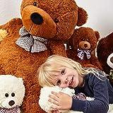 XXL Teddybär, 120 cm (Lumaland) - 7