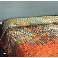 Bassetti Colcha Mosaico Multicolor Cama 150 (240 x 255 cm)