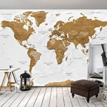 papier peint carte du monde. Black Bedroom Furniture Sets. Home Design Ideas
