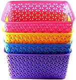 #7: (Fair Food Plastic Fruit & Vegetable Basket -Multicolor)