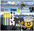 LEGO® Stationery Activity Set Cops and Robbers