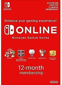 Nintendo Switch Online - 12-Month Family Membership
