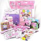 Hello Kitty/Charmmy Kitty XXL Kinderparty/Geburtstagsset 100-teilig, Mottoparty Kinderdeko