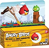 Angry Birds K 'NEX rot Vogel vs klein Minion Pig Building Set
