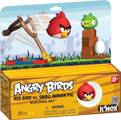 Angry Birds K 'NEX rot Vogel vs klein Minion Pig Building Set