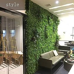 RKY Mur de Fond - Mur de Plante Artificielle, Mur de Fleurs pour Mariage, décoration de Mur de Toit écran en Trois Dimensions (4 Styles à Choisir de) @ (Couleur : 04)