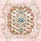 Mbwlkj Europäische Muster Schmuck 3D-Bodenbeläge Tapeten Schlafzimmer Im Hof Rutschfester Boden Wandbild-250Cmx175Cm