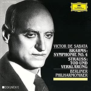 Brahms: Symphony No.4 in E Minor, Op.98 / Strauss, R.: Tod Und Verklärung, Op.24
