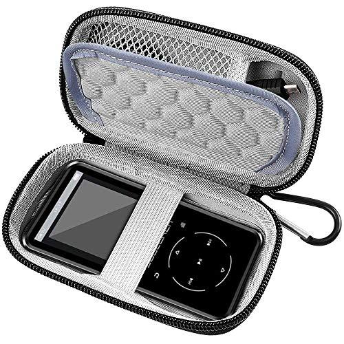 COMECASE-Tasche FÜR MP3-SPIELER, Victure/Soulcker/SVMUU/Ipod Shuffle & Nano mit Bluetooth und anderem Musikplayer. Fit für Kopfhörer, USB-Kabel, Speicherkarte. (Ipod Shuffle-nano-fall)