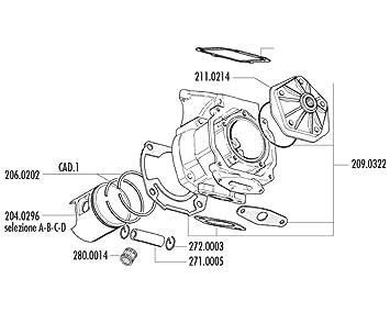 kolbenkit polini 154ccm 60 mm for rotax 122 123 engine amazon co uk rh amazon co uk Rotax Engine Design 19 HP Kohler Engine Diagram