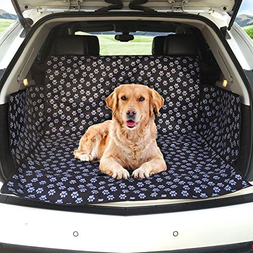 XRY Universal Kofferraum LINER Cargo Cover Protector mit Seite Schutz Stoßstangen Langlebig und wasserdicht Ideal für Reisen mit Hunde und Haustiere, Schutz vor Schmutz, Staub und Muddy Paws, passend für - Truck Cargo-zubehör