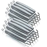 Ersatz Trampolin Spiral Federn für Outdoor-Trampoline Gartentrampoline Fittness-Trampoline Lange: 178mm / 25mm Ø (24 Stück)