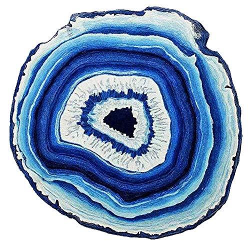 YWLINK Rutschfester Creative Geode Bodenteppich Restaurant Kinderzimmer Wohnzimmer Schlafzimmer Teppichbodenmatte Modern Bettvorleger Sofa Matte Kissen rutschfest