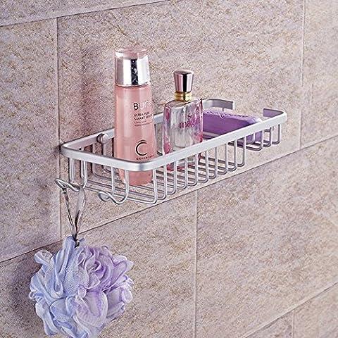 FEI&S di spazio in maglia di alluminio cestello spazio bagno sapone di alluminio cestello - Acciaio Inox Porta Cerniere