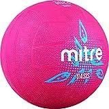 Mitre Oasis Training Netball, unisex, Oasis, Pink/Cyan/White