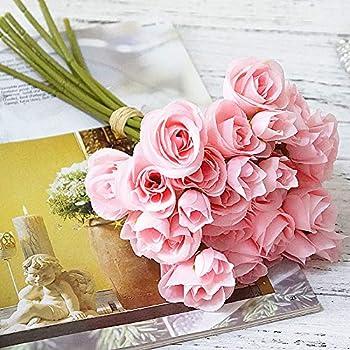 4b420b60fdc Buy SELLBINDING Rose Simulation Bouquet, 1 Bunch of 13 European ...
