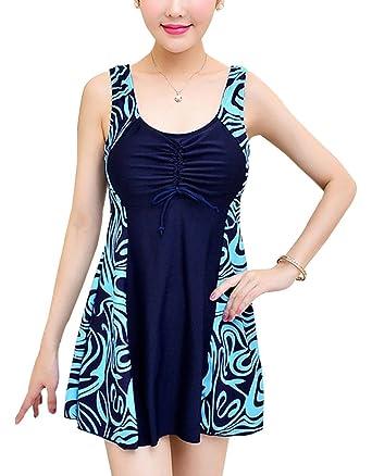 Maillot de bain robe femme ronde