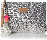 CODELLO Damen 81031607 Clutch, Grau (Light Grey), 1x18x27 cm