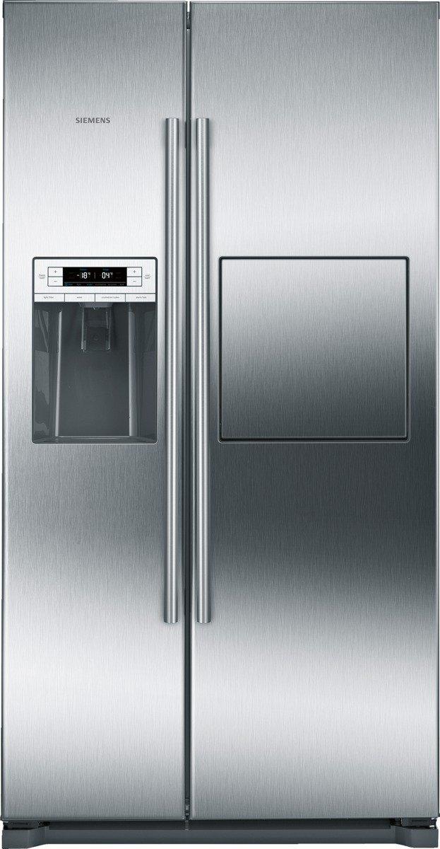 Siemens KA90GAI20 iQ500 Side-by-Side / A+ / 177 cm Höhe / 432 kWh / 359 Liter Kühlteil / 163 Liter Gefrierteil / no…