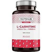 L-Carnitine Pure   Brûleur de Graisse Puissant et Végétalienne pour la Perte de Poids avec L-Carnitine, Thé Vert Naturel…