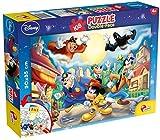 Lisciani Giochi 48021 - Mickey Puzzle Doppia Faccia Plus, 108 Pezzi