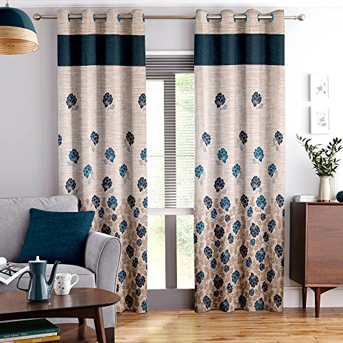 Story@Home Berry Blackout Window Curtain 1 Piece for Living room...