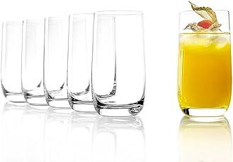 Stölzle Lausitz Saftgläser/Wasserglässer Weinland 315ml, 6er Set Wasserglas, bleifreies Kristallglas, spülmaschinenfest, hochwertige Qualität