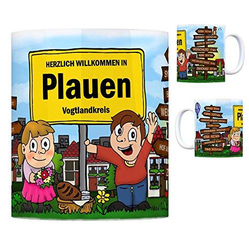trendaffe - Herzlich Willkommen in Plauen Vogtland Kaffeebecher