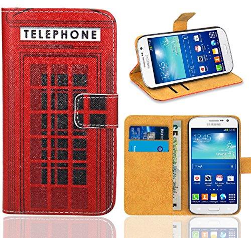 Samsung Galaxy Grand Neo / Grand Neo Plus Handy Tasche, FoneExpert Wallet Case Flip Cover Hüllen Etui Ledertasche Lederhülle Premium Schutzhülle für Samsung Galaxy Grand Neo / Grand Neo Plus (Pattern 12)