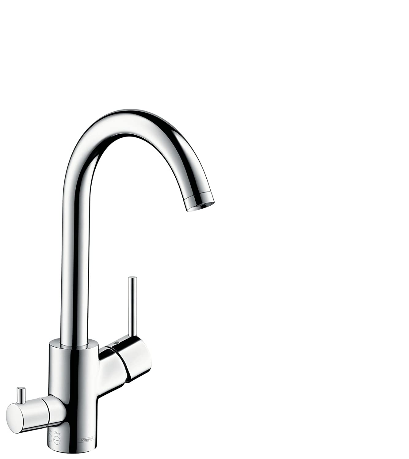 Mixers focus single lever kitchen mixer 260 item no 31820000 - Hansgrohe Talis S Kitchen Tap With Swivel Spout Chrome 14870000 Amazon Co Uk Diy Tools