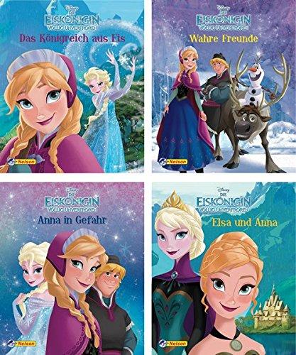 frozen cd Nelson Mini-Bücher: 4er Disney Die Eiskönigin 1-4: Völlig unverfroren