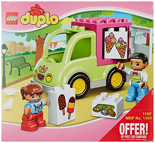 LEGO Duplo Town 10586 - Furgone Dei Gelati