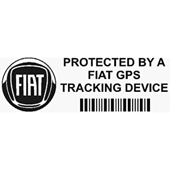537e9657dc Platinum Place 5 x PPFIATGPSBLK GPS BLACK Tracking Device Security WINDOW  Stickers 87x30mm-Car