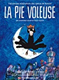 La Pie voleuse : fabuleuses adaptation des opéras de Rossini / Emanuele Luzzati, Giulio Gianini, réal. | Luzzati, Emanuele. Metteur en scène ou réalisateur
