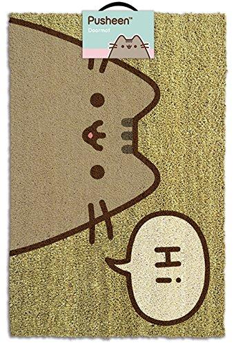Halloween Tasse Kuchen - Pusheen Hi Offizielles Lizenzprodukt Fußmatte, Kokosfaser,