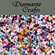 1000 x 1mm Mixed Colours Diamante Loose Round Flat Back Rhinestone Craft Gems created exclusively for Diamante Crafts
