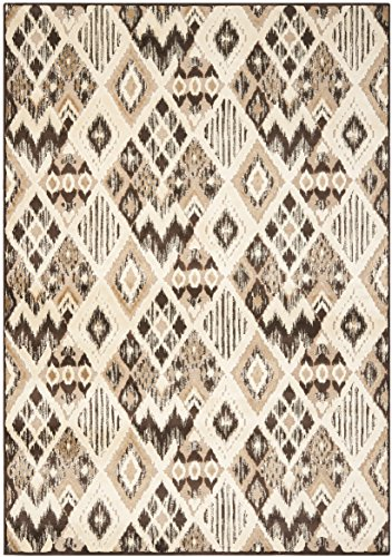 Safavieh Salma gewebter Teppich, PAR114-360, Braun/Taupe, 160 X 228 cm