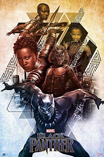 Grupo Erik Editores Poster Marvel Black