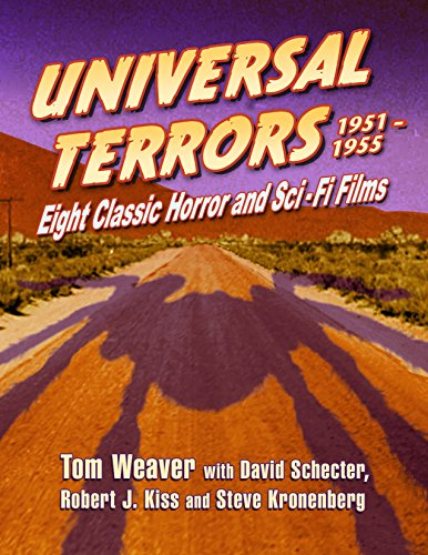 Universal Terrors, 1951-1955: Eight Classic Horror and Science Fiction Films (English Edition) Universal-video-format