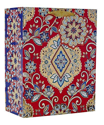 JILLSON Roberts Katzentoilette Medium 25,4x 20,3x 10,2cm Floral Geschenk Taschen erhältlich in 11verschiedene Designs, Blumenmuster Gobelin