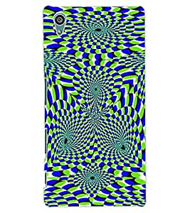 ColourCraft Illusive Design Back Case Cover for SONY XPERIA Z5