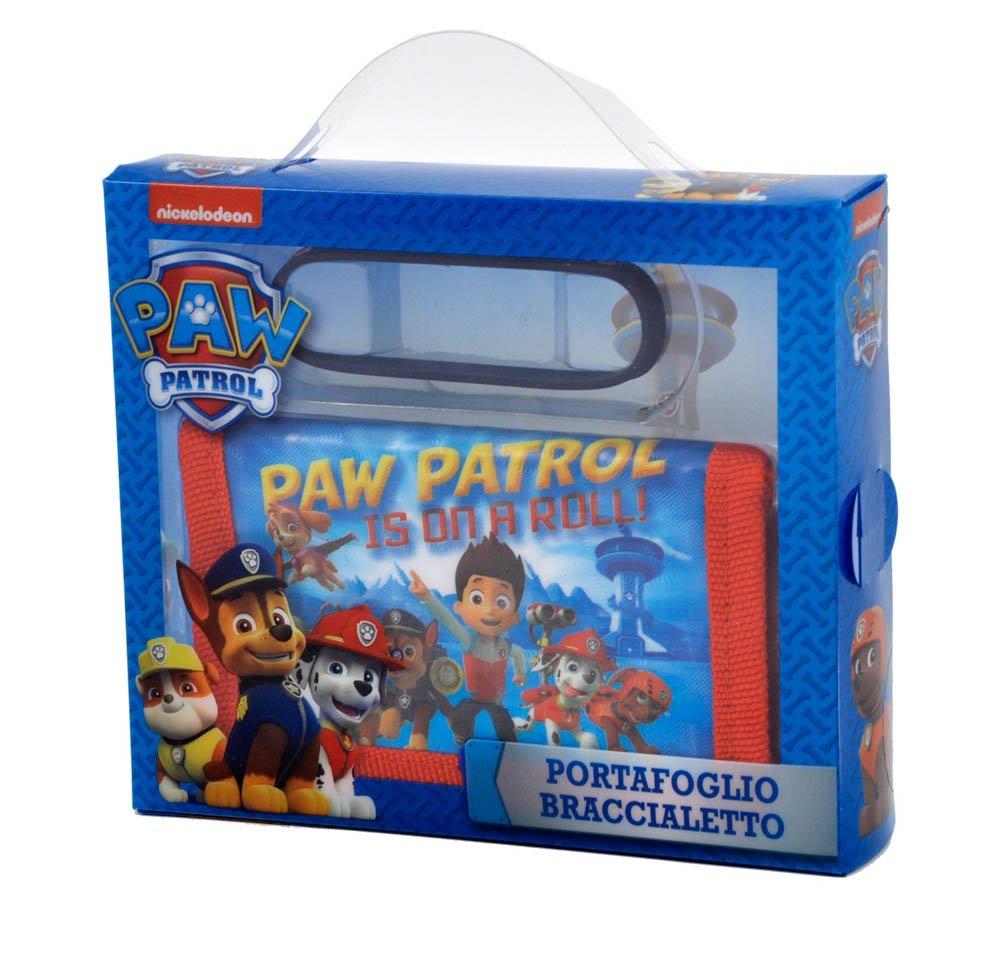Paw Patrol - Confezione Regalo Portafoglio con Braccialetto