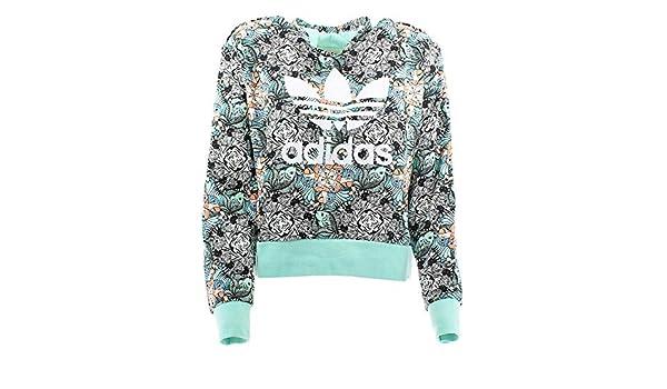 adidas J Zoo Hoodie Sweatshirt, Mädchen, Mehrfarbig (MULTCO MENCLA Blanco)   Amazon.de  Sport   Freizeit 1143385cff